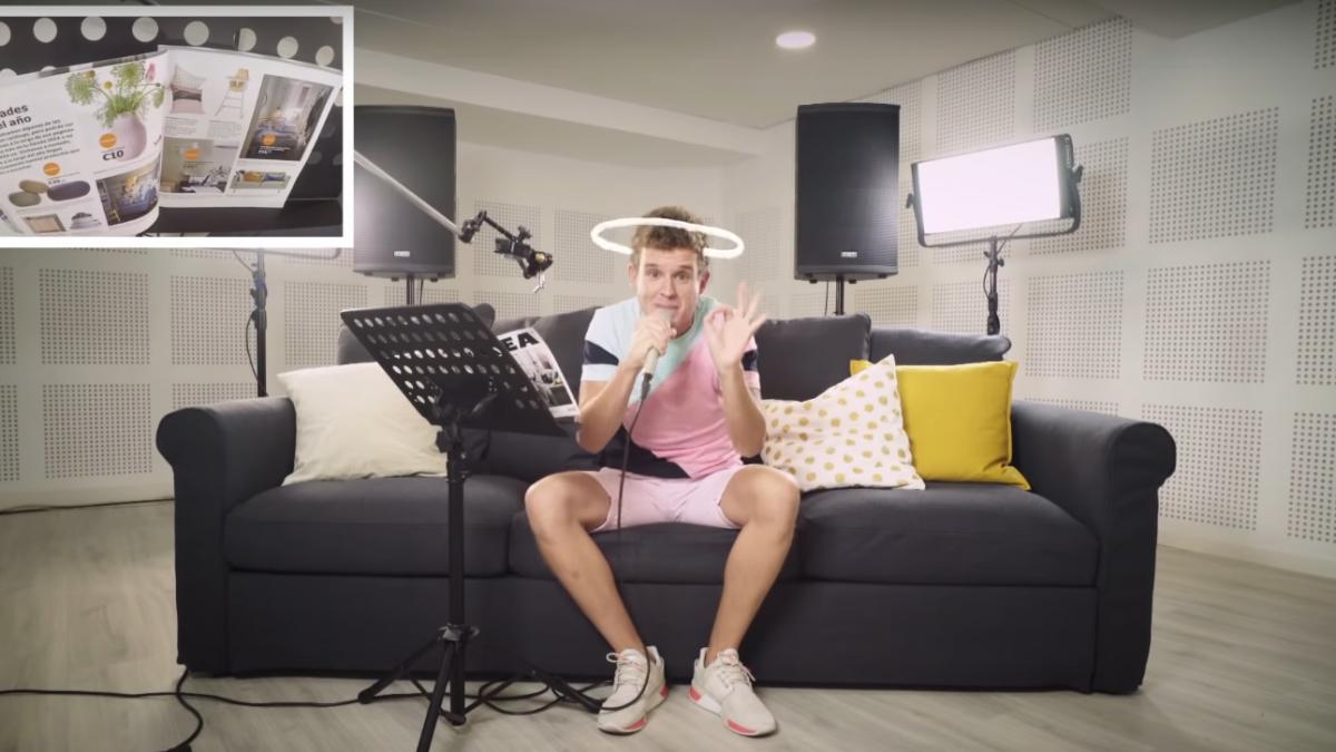 Arkano convierte en rap el catálogo de Ikea