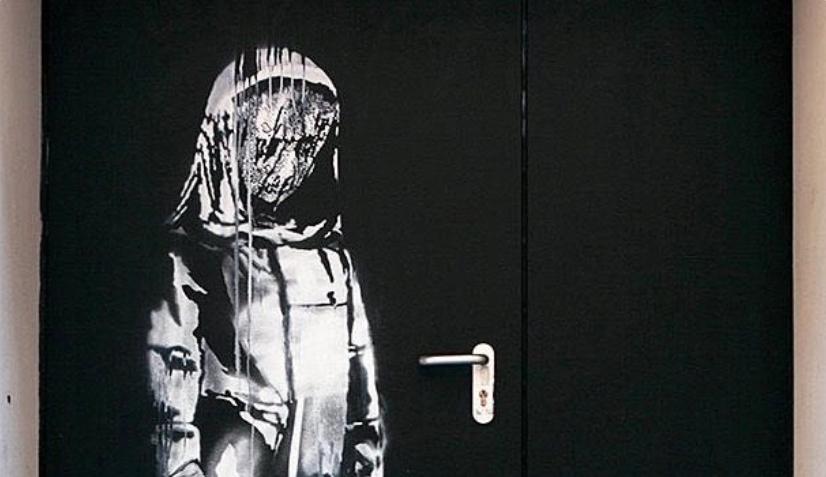 Roban el Banksy de la Sala Bataclan