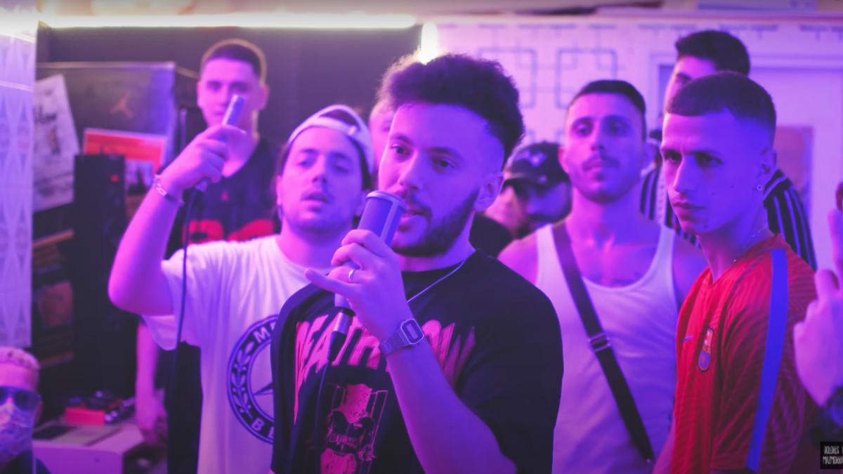 Hide Tyson ft Sokez ft Jacman – «Los Niños del Afromarket 02»