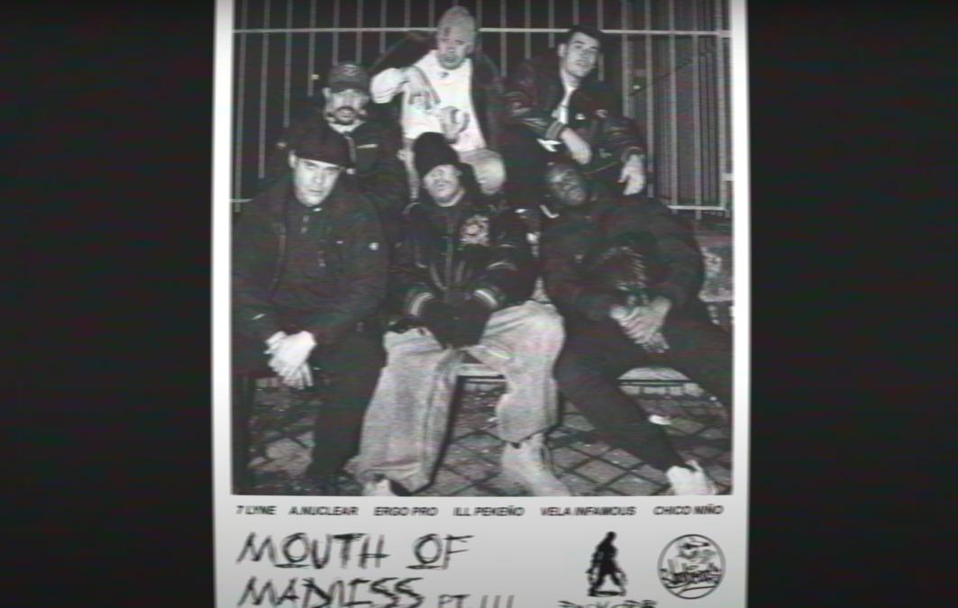 A. Nuclear & 7 Lyne – «Mouth Of Madness Pt. III» ft Ergo Pro, Ill Pekeño, Vela Infamous & Chico Niño
